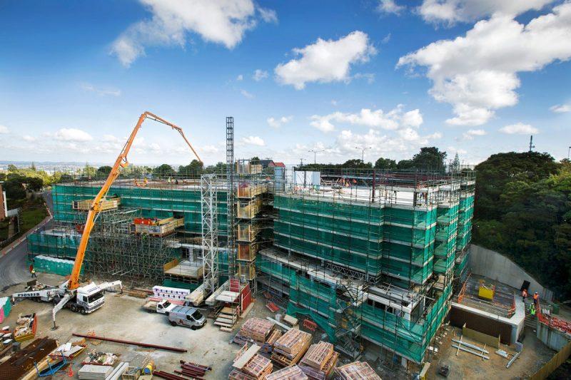 Bert Sutcliffe Retirement Construction