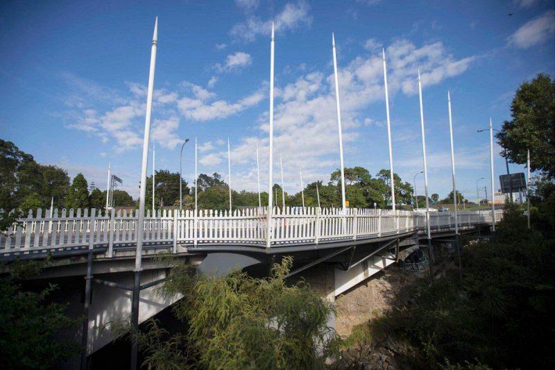 Landscape Henderson Art Bridge